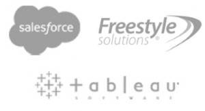 salesforces freestyle tableau logos
