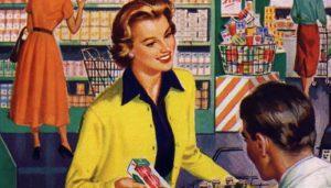 Retro Shoppers Image