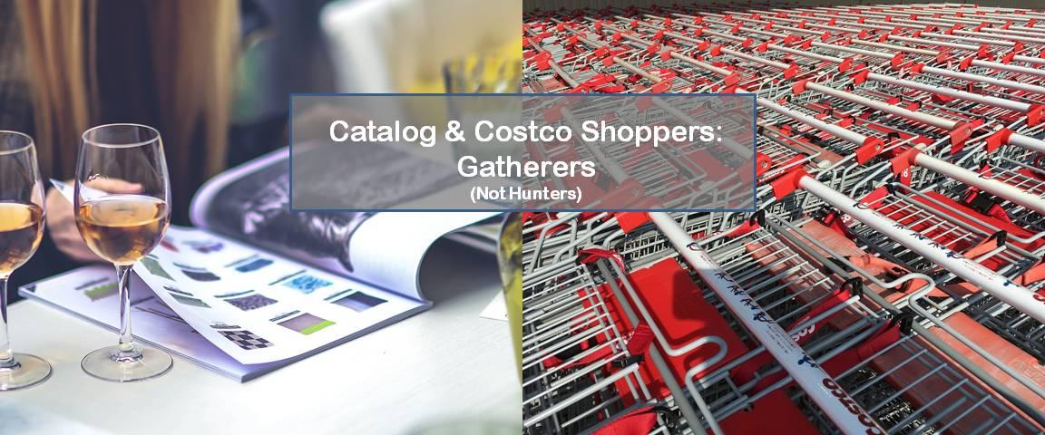 Image of catalog and shopping carts